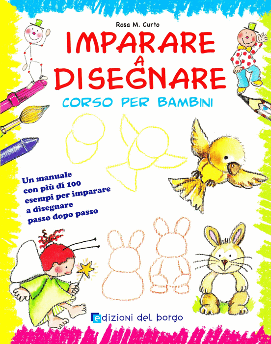 Popolare Cinque libri per imparare a disegnare (per bambini e adulti  OR85