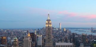L'Empire State Building, uno dei più famosi edifici di Manhattan a New York