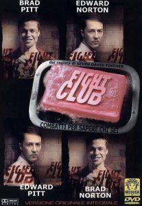 La locandina di Fight Club, bel film che fa riflettere ed emoziona