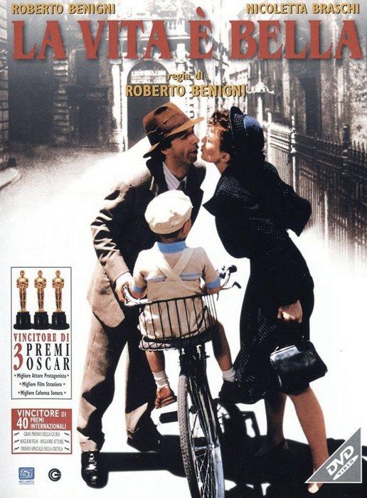 La vita è bella, straordinario film di Roberto Benigni
