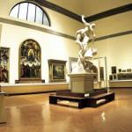 Una sala della Galleria dell'Accademia