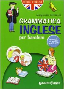 Grammatica inglese per bambini, edizioni Giunti