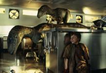 Una delle scene più famose di Jurassic Park