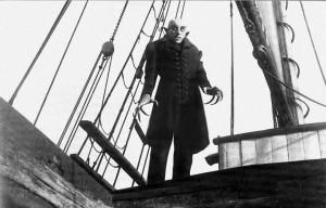 Max Schrech in Nosferatu