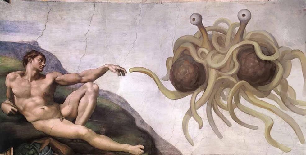 Il Mostro di spaghetti volante del Pastafarianesimo