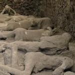 Corpi rinvenuti durante gli scavi di Pompei