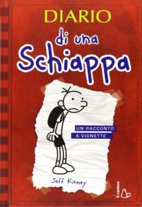 Il primo volume della saga Diario di una schiappa