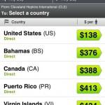I prezzi in base alla destinazione su Skyscanner