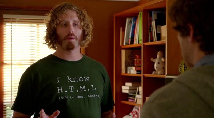 Una simpatica t-shirt apparsa in Silicon Valley, nuova serie della HBO