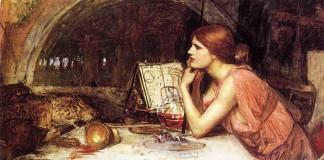 Circe, forse la più famosa maga dell'epica greca, ritratta da J.W. Waterhouse