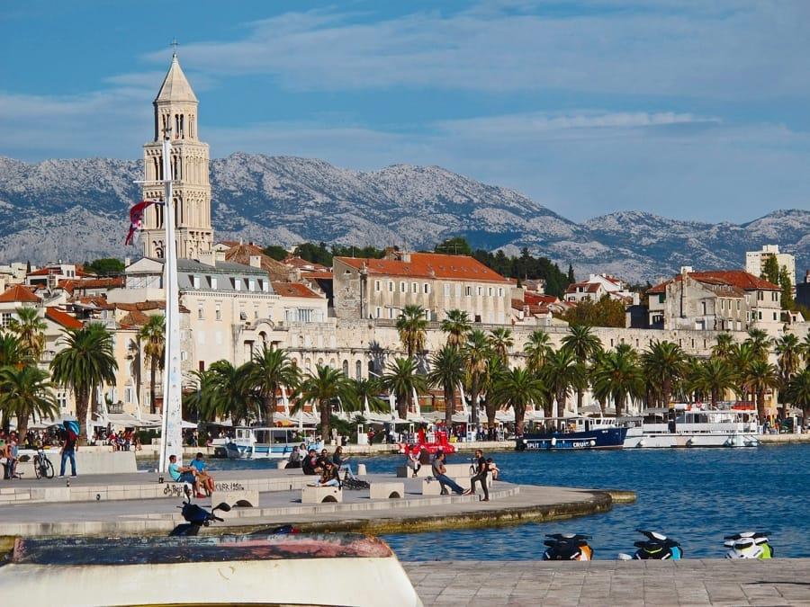 Spalato, in Croazia