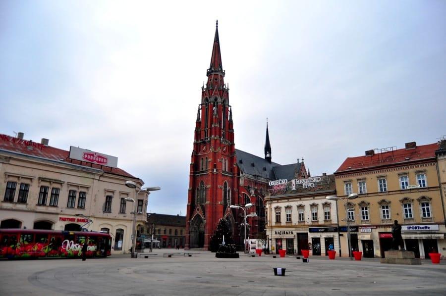 La Cattedrale di Osijek