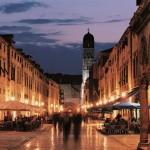 Il centro di Dubrovnik/Ragusa