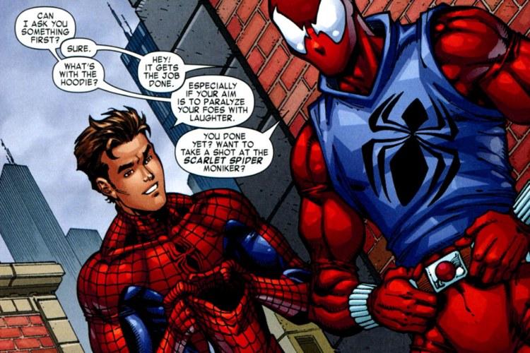 Spider-Man (Peter Parker) e Ben Reilly