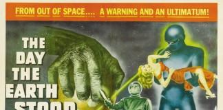 """La locandina di """"Ultimatum alla Terra"""", uno dei film di fantascienza più famosi degli anni '50"""