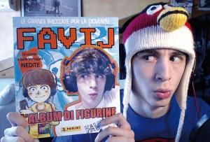 Favij, forse il più famoso tra gli youtuber italiani