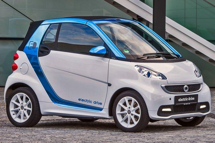La versione elettrica della Smart ForTwo