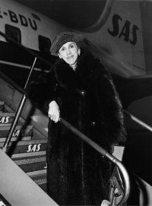 Karen Blixen nel 1957