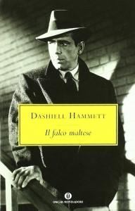 """""""Il falco maltese"""" di Dashiell Hammett, con un fotogramma del film con Humphrey Bogart"""