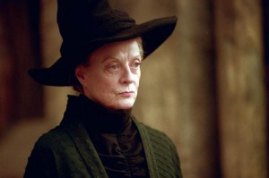 Minerva McGranitt, interpretata da Maggie Smith
