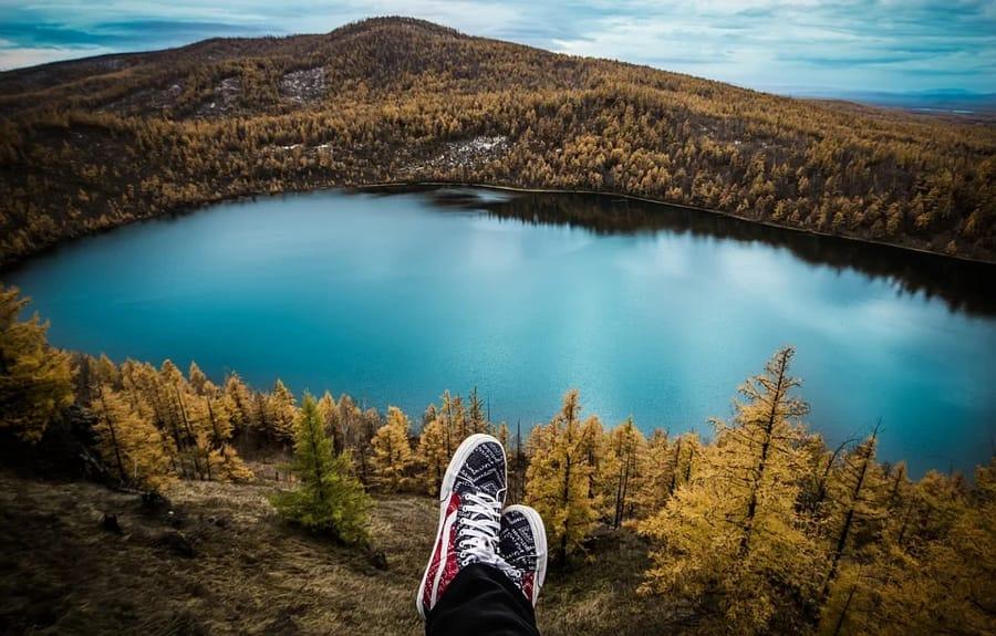 Raggiungere i propri obiettivi, ad esempio scalando una montagna