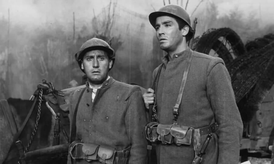 Alberto Sordi e Vittorio Gassman ne La grande guerra