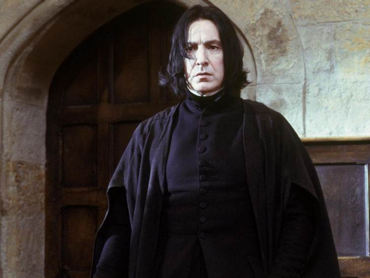 Severus Piton, col volto del grande attore Alan Rickman