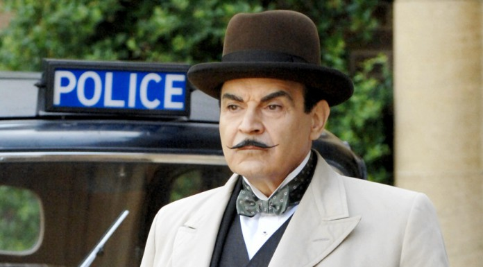 Hercule Poirot, celebre detective creato da Agatha Christie nei suoi libri gialli