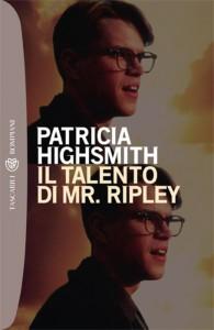 """La copertina dell'edizione Bompiani de """"Il talento di Mr. Ripley"""", che richiama il film con Matt Damon"""