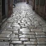 Le caratteristiche strade di Rovigno