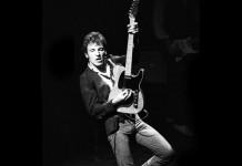 Bruce Springsteen in un concerto di ormai molti anni fa