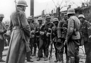 Soldati della Wehrmacht a Stalingrado