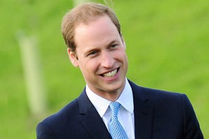 Il principe William d'Inghilterra