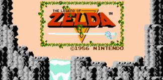 Immagine d'apertura del primo, epico Zelda