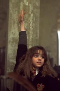 Hermione Granger, personaggio cardine della saga di Harry Potter