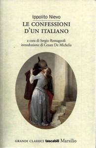 """""""Le confessioni d'un italiano"""" di Ippolito Nievo, che rende evidenti molte delle caratteristiche tipiche del romanzo storico"""