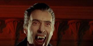 Dracula nell'interpretazione di Christopher Lee