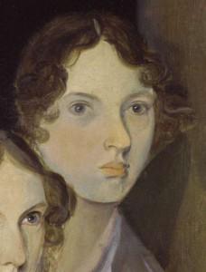 Emily Brontë in quello che è l'unico ritratto fattole in vita