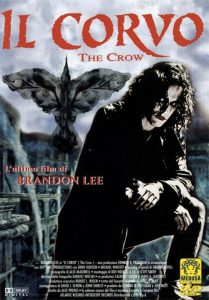 Il corvo, l'ultimo film interpretato da Brandon Lee