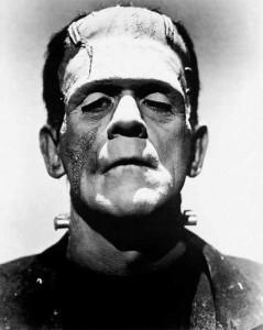 Frankenstein – forse il più famoso mostro che in realtà era buono – nell'interpretazione di Boris Karloff