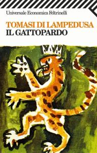 """La copertina de """"Il Gattopardo"""" di Giuseppe Tomasi di Lampedusa"""