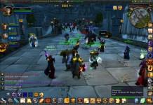 Una schermata di World of Warcraft, il più celebre tra i giochi di ruolo online
