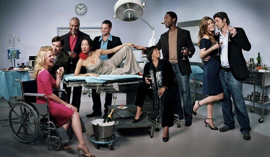 Il cast storico di Grey's Anatomy, protagonista di tante scene memorabili