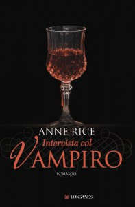 """La copertina di """"Intervista col vampiro"""", uno dei più celebri libri sui vampiri, di Anne Rice"""