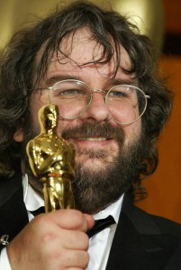 Peter Jackson con il premio Oscar