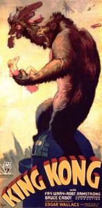 Il manifesto del film di King Kong del 1933