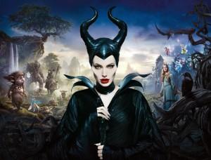 Malefica interpretata da Angelina Jolie nel recente film Disney