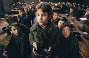 Oliver Twist nell'adattamento cinematografico di Roman Polanski