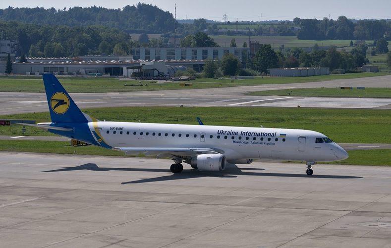 La linea aerea dell'Ucraina
