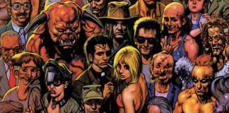 I personaggi di Preacher, il noto fumetto di Garth Ennis